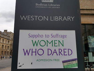 Women who dared sign