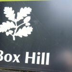 Box Hill sign