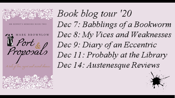 Port and Proposals blog tour
